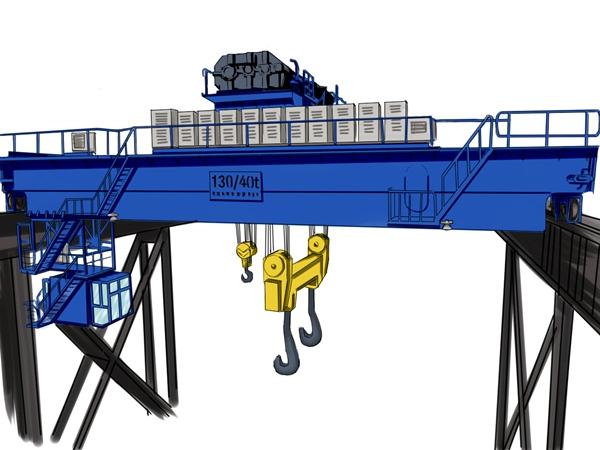 洛阳桥式起重机ballbet体彩官网16吨